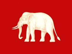 タイ 旧国旗1