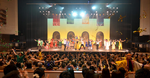 【メディア掲載】東京新聞に群馬ミュージカル公演の様子が掲載されました