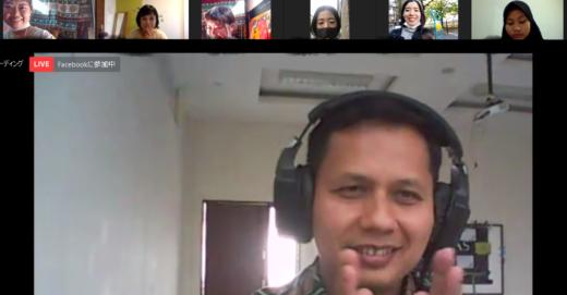 インドネシアのイスラム教学校のオンライン授業で、日本を紹介してきました!