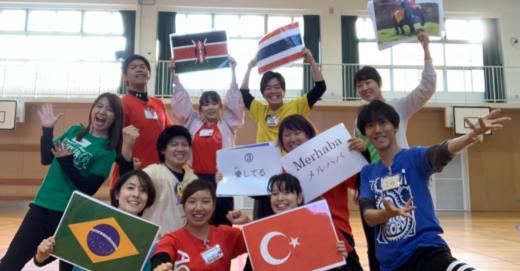 子どもたちと世界のダンス!in 兵庫県芦屋市立岩園小